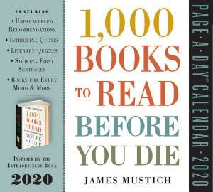 1,000 BOOKS TO READ BEFORE YOU DIE PAGE-A-DAY CALENDAR 2020