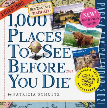 1,000 PLACES TO SEE BEFORE YOU DIE PAGE-A-DAY CALENDAR 2021