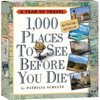 1000 PLACES TO SEE BEFORE YOU DIE 2012. (Calenda