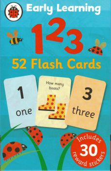 "123 FLASH CARDS. ""Early Learning"", /Ladybird/"