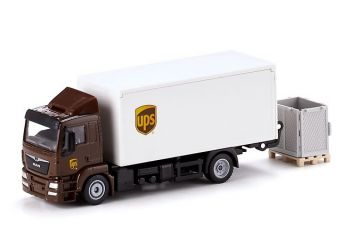 1997 Играчка Man Truck With Box Body And Tail Lift