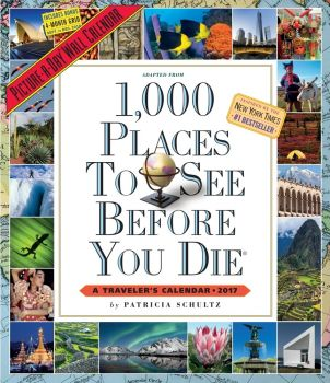 1,000 PLACES TO SEE BEFORE YOU DIE PICTURE-A-DAY CALENDAR 2017. /стенен календар/