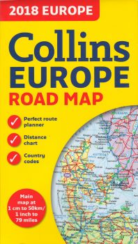 2018 COLLINS EUROPE ROAD MAP