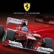 FERRARI 2014: Official Calendar. /стенен календа