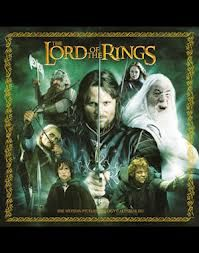 LORD OF THE RINGS 2013 OFFICIAL CALENDAR. /стене