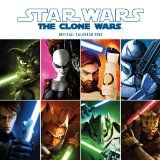 STAR WARS: THE CLONE WARS OFFICIAL CALENDAR 2012