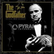 GODFATHER OFFICIAL 2014 CALENDAR. /стенен календ