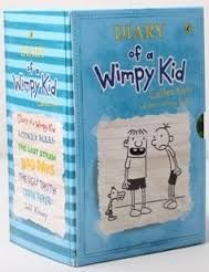 DIARY OF A WIMPY KID COLLECTION, 7 Books, Vol 1