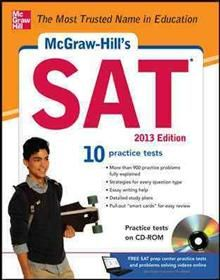 MCGRAW-HILL`S SAT 2013 WITH CD-ROM. 8th ed