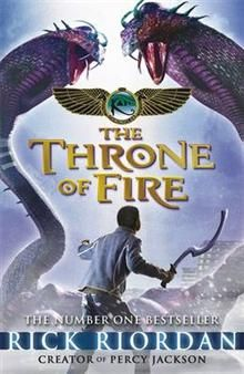 "THE THRONE OF FIRE. ""The Kane Chronicles"""