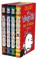 DIARY OF A WIMPY KID: Box Of Paper Books. 4-Volu