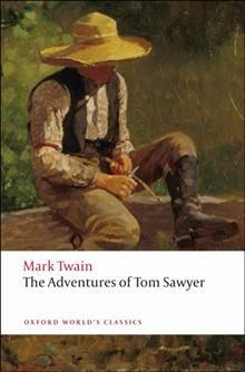 THE ADVENTURES OF TOM SAWER.