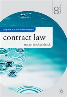 CONTRACT LAW, 8th Edition