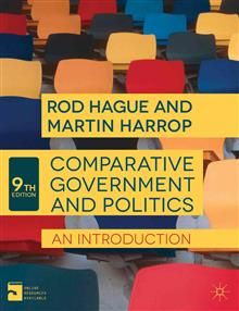 COMPARATIVE GOVERNMENT AND POLITICS: An Introduc