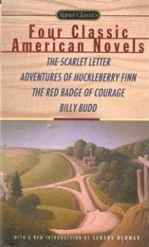 FOUR CLASSIC AMERICAN NOVELS: The Scarlet Letter