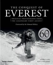 THE CONQUEST OF EVEREST: Original Photographs fr