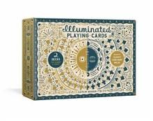 ILLUMINATED PLAYING CARD SET: Two Decks with Game Rules