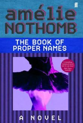 THE BOOK OF PROPER NAMES