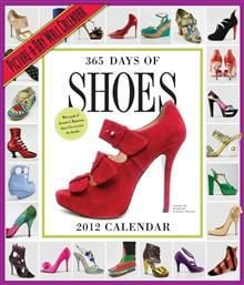 365 DAYS OF SHOES 2012. /стенен календар/