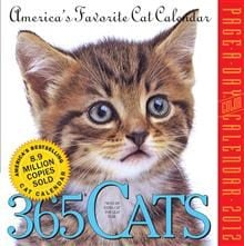 365 CATS 2012. (Calendar/Page A Day)