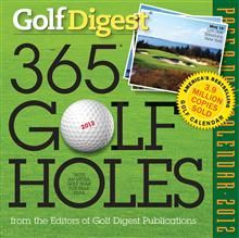 365 GOLF HOLES 2012. (Calendar/Page A Day)