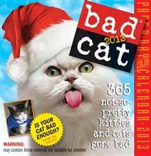 BAD CAT 2013.  (Calendar/Page A Day)