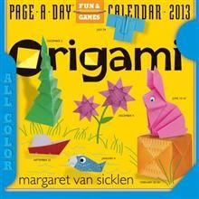 ORIGAMI 2013. (Calendar/Page A Day)