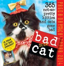 BAD CAT 2014.  (Calendar/Page A Day)