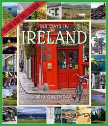 365 DAYS OF IRELAND 2014. /стенен календар/