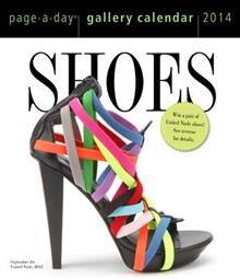 SHOES GALLERY 2014. (Calendar/Page A Day)