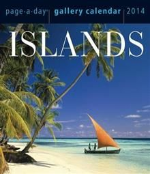 ISLANDS GALLERY 2014. (Calendar/Page A Day)
