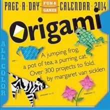 ORIGAMI 2014. (Calendar/Page A Day)