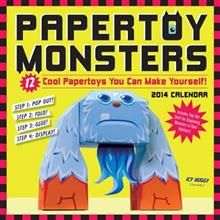 PAPERTOY MONSTERS 2014. /стенен календар/