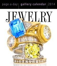 JEWELRY GALLERY 2014. (Calendar/Page A Day)