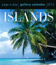 ISLANDS  PAGE-A-DAY GALLERY CALENDAR 2015