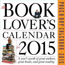 THE BOOK LOVER`S PAGE-A-DAY CALENDAR 2015