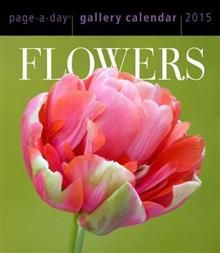 FLOWERS PAGE-A-DAY GALLERY CALENDAR 2015