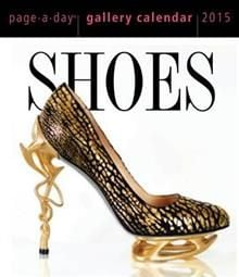 SHOES PAGE-A-DAY GALLERY CALENDAR 2015
