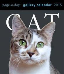 CAT PAGE-A-DAY GALLERY CALENDAR 2015