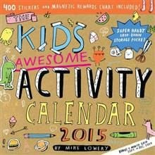 THE KIDS AWESOME ACTIVITY CALENDAR 2015. /стенен
