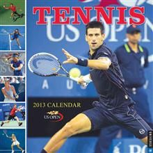 TENNIS: Wall Calendar 2013. (The 2013 Us Open Ca