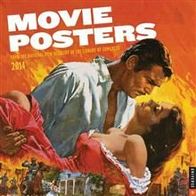 MOVIE POSTERS 2014 WALL CALENDAR