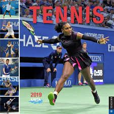 TENNIS THE U.S. OPEN 2019. /стенен календар/