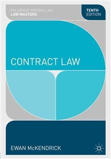CONTRACT LAW, 10th edition