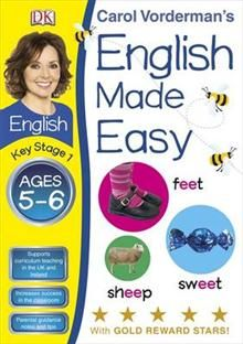 ENGLISH MADE EASY, Ages 5-6, Key Stage 1