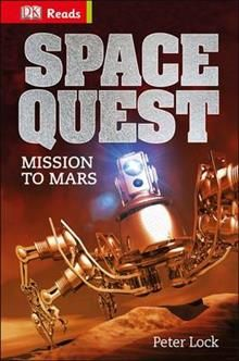 """SPACE QUEST. """"DK Reads Starting to Read Alone"""""""