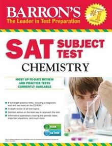 BARRON`S SAT CHEMISTRY + CD-ROM, 13th Edition