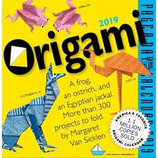 ORIGAMI PAGE-A-DAY CALENDAR 2019