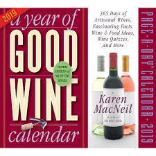 A YEAR OF GOOD WINE PAGE-A-DAY CALENDAR 2019