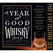 A YEAR OF GOOD WHISKY PAGE-A-DAY CALENDAR 2019